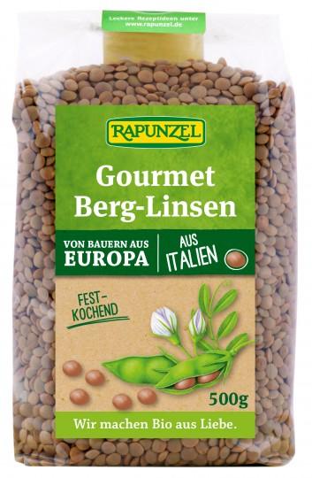 Bio Gourmet Berg-Linsen braun, 500 g