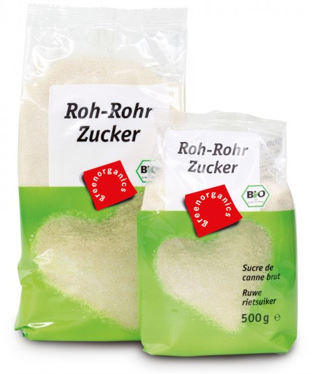 Bio Roh-Rohrzucker, 1 kg