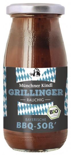 Bio Grillinger BBQ Soß´, rauchig, 250 ml