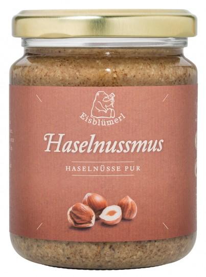 Bio Haselnussmus, 250 g