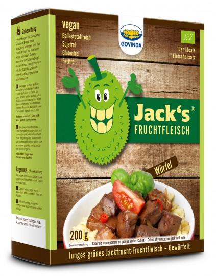 Bio Jackfrucht-Fruchtfleisch Würfel, 210 g