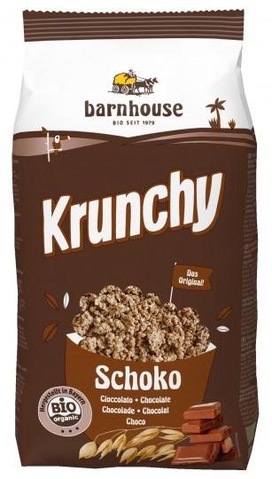 Bio Krunchy Schoko, 750 g