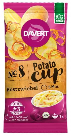 Bio Potato-Cup Röstzwiebel, 54 g