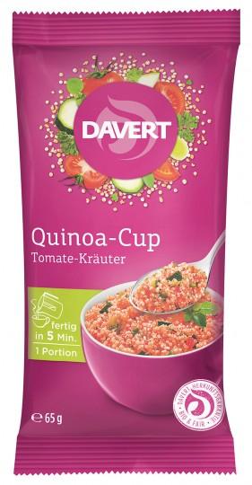 Bio Quinoa-Cup Tomate-Kräuter, 65 g