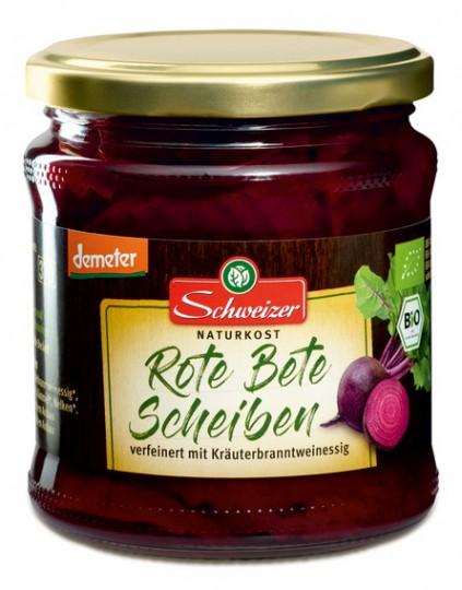 Bio rote Bete in Scheiben, 370 ml