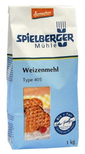 Bio Weizenmehl Type 405, 1 kg