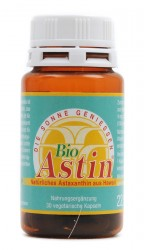 Astin - Natürliches Astaxanthin (konv. Anbau) 30 Kapseln