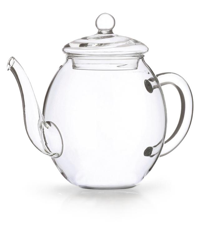 Glas Teekanne glas teekanne für erblüh tees im all bio kaufen versand bio
