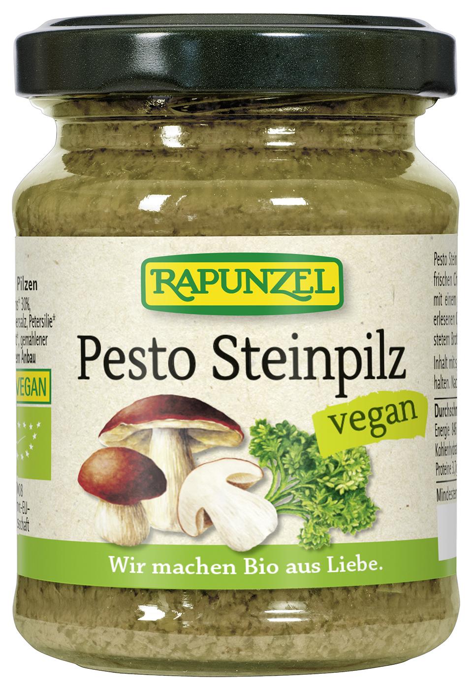 Bio Pesto Steinpilz, 120 g