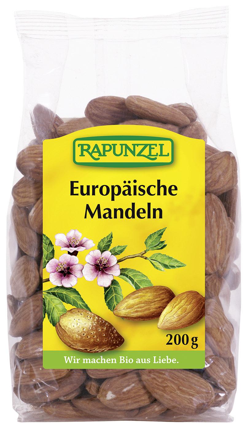 Bio Europäische Mandeln, 200 g