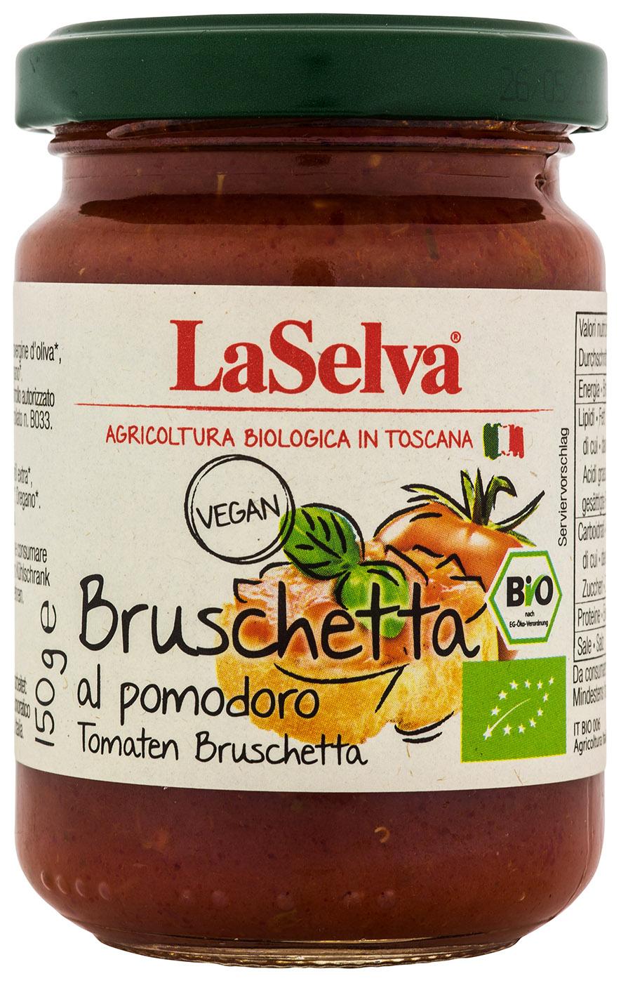 Bio Bruschetta al pomodore, Bruschetta aus Tomaten, 150 g
