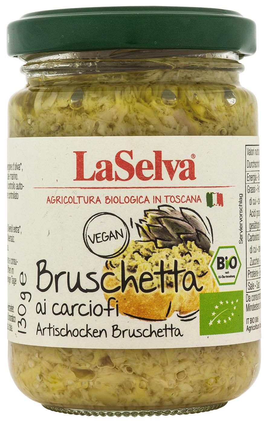 Bio Bruschetta ai carciofi, Bruschetta aus Artischocken, 130 g