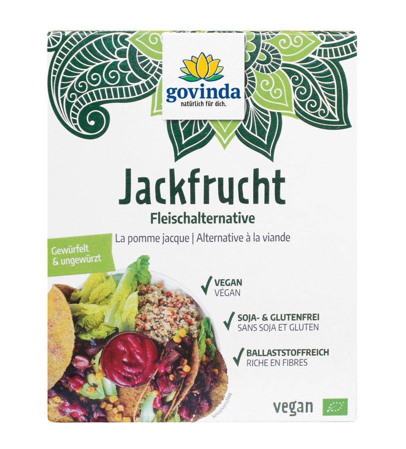 Bio Jackfrucht-Fruchtfleisch Würfel, 200 g