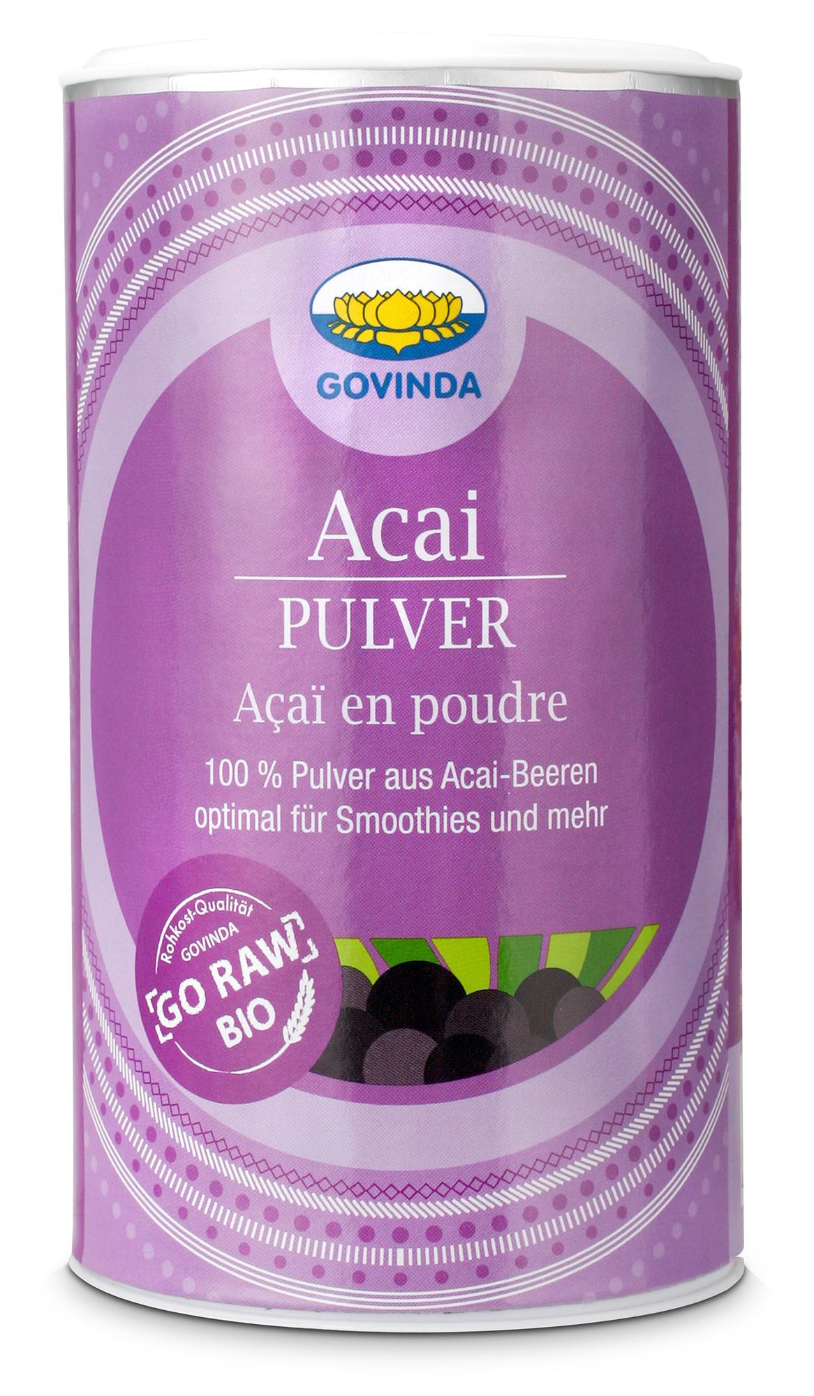 Bio Acai Fruchtpulver, 100 g