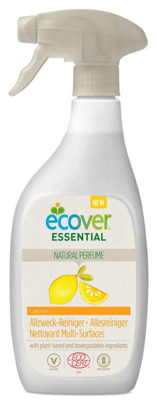 Essential Allzweck-Reiniger Zitrone, Sprühflasche, 500 ml