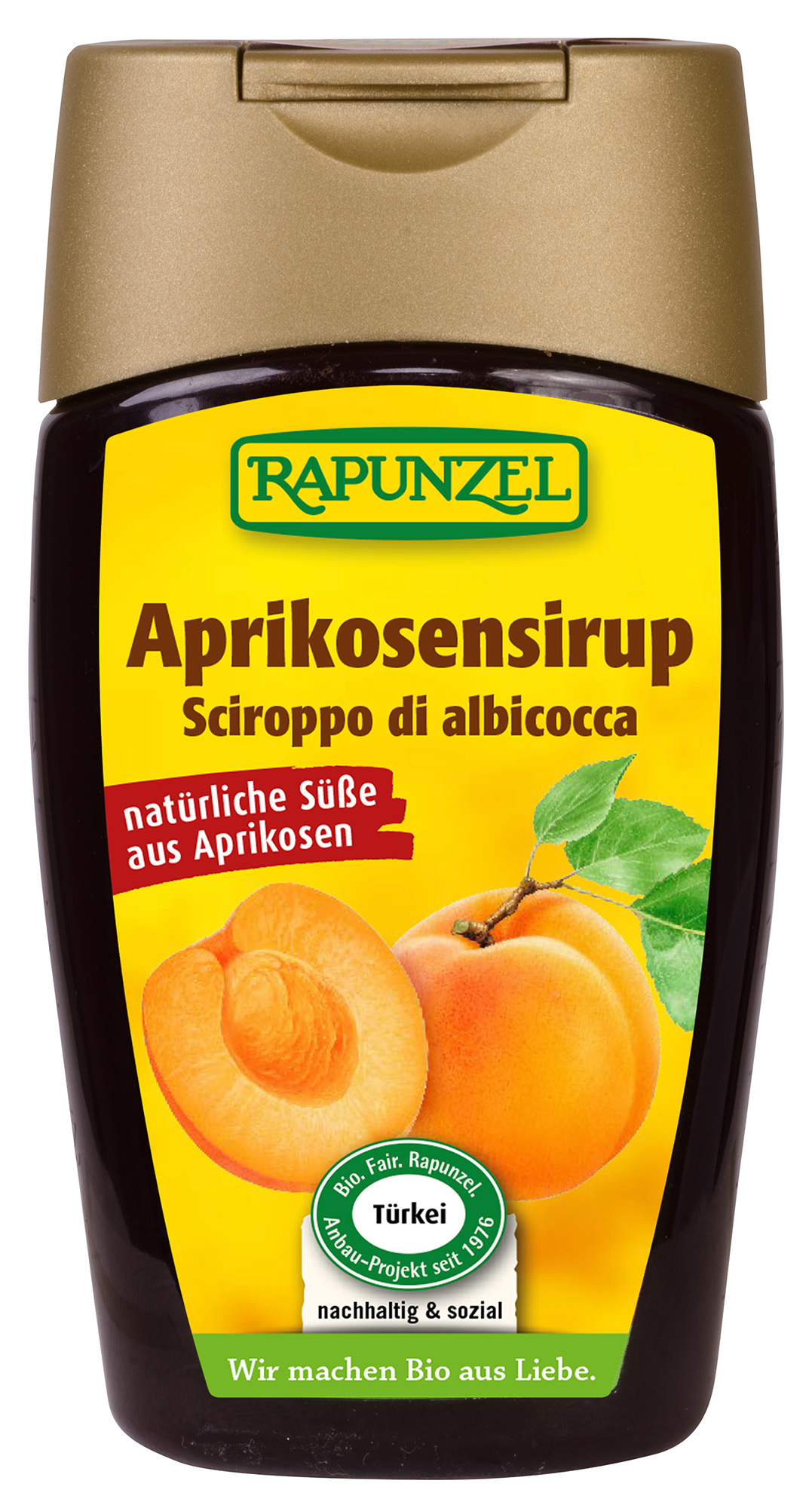 Bio Aprikosensirup, 250 g
