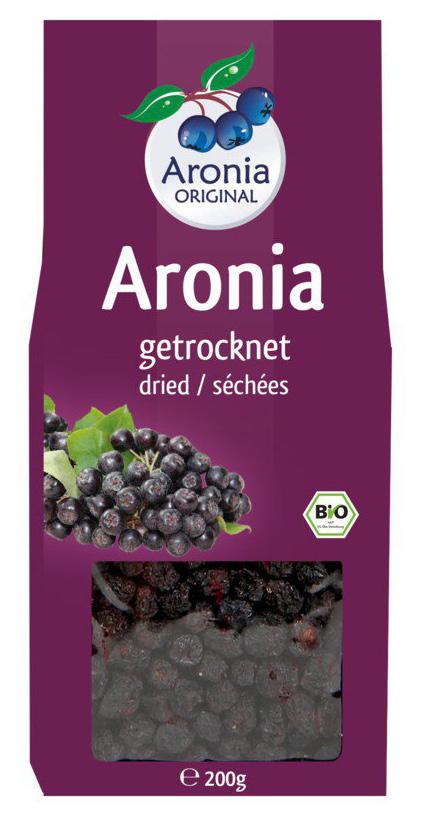 Bio Aroniabeeren, getrocknet, 200 g