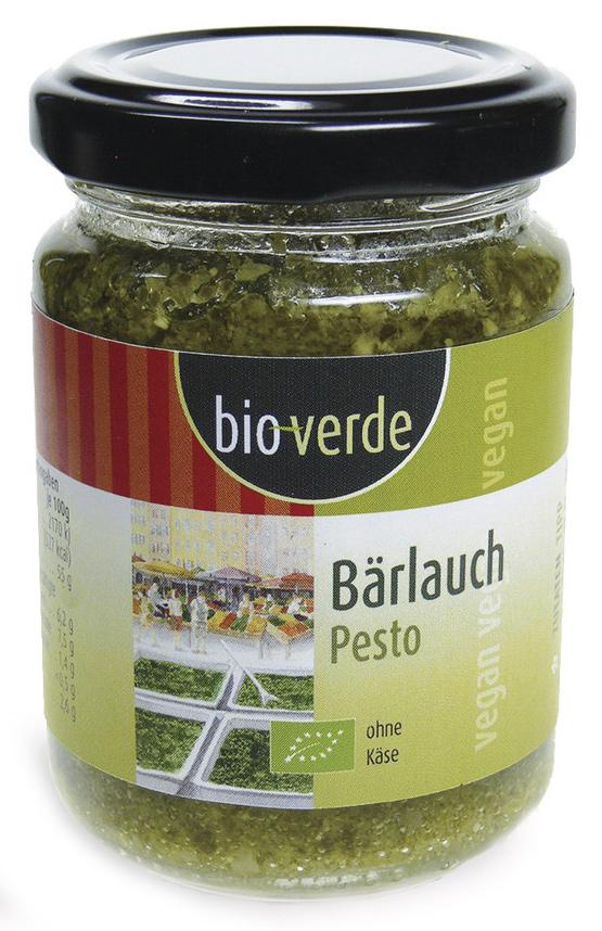 Bio Bärlauch Pesto, 125 ml