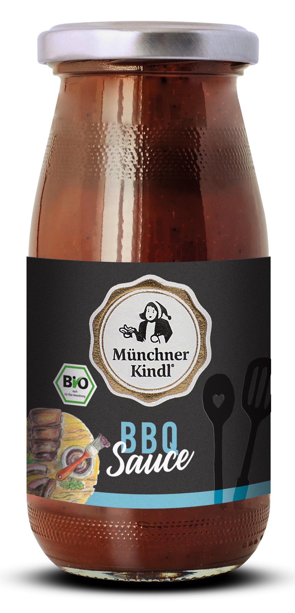 Bio BBQ Sauce, 250 ml