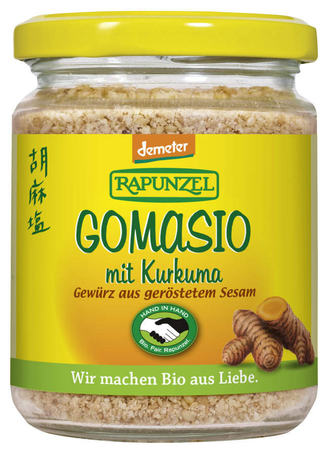 Bio Gomasio mit Kurkuma, DEMETER, 100 g