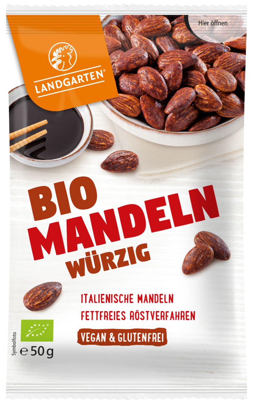 Bio Mandeln Würzig, 50 g