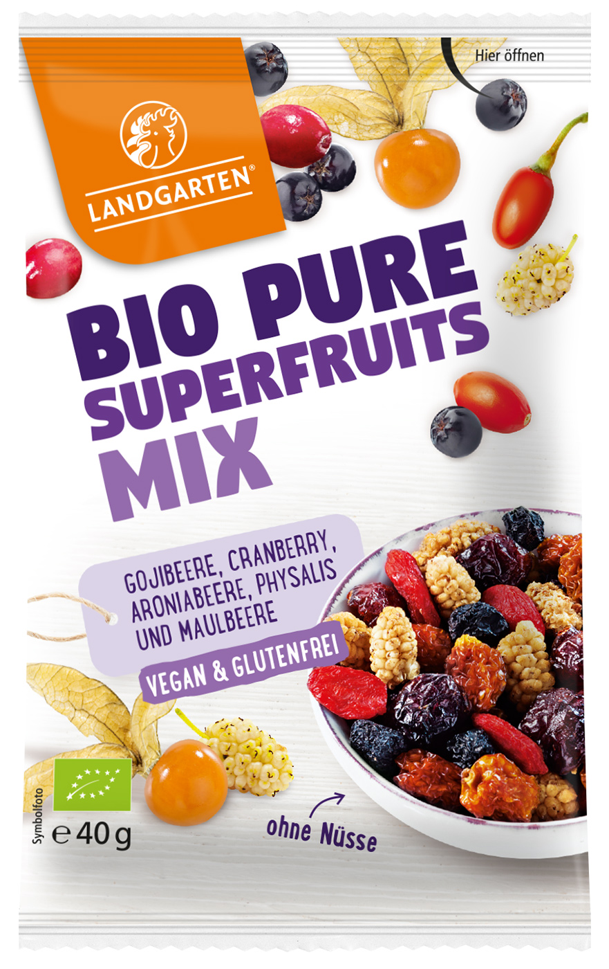 Bio Pure Superfruits Mix, 40 g