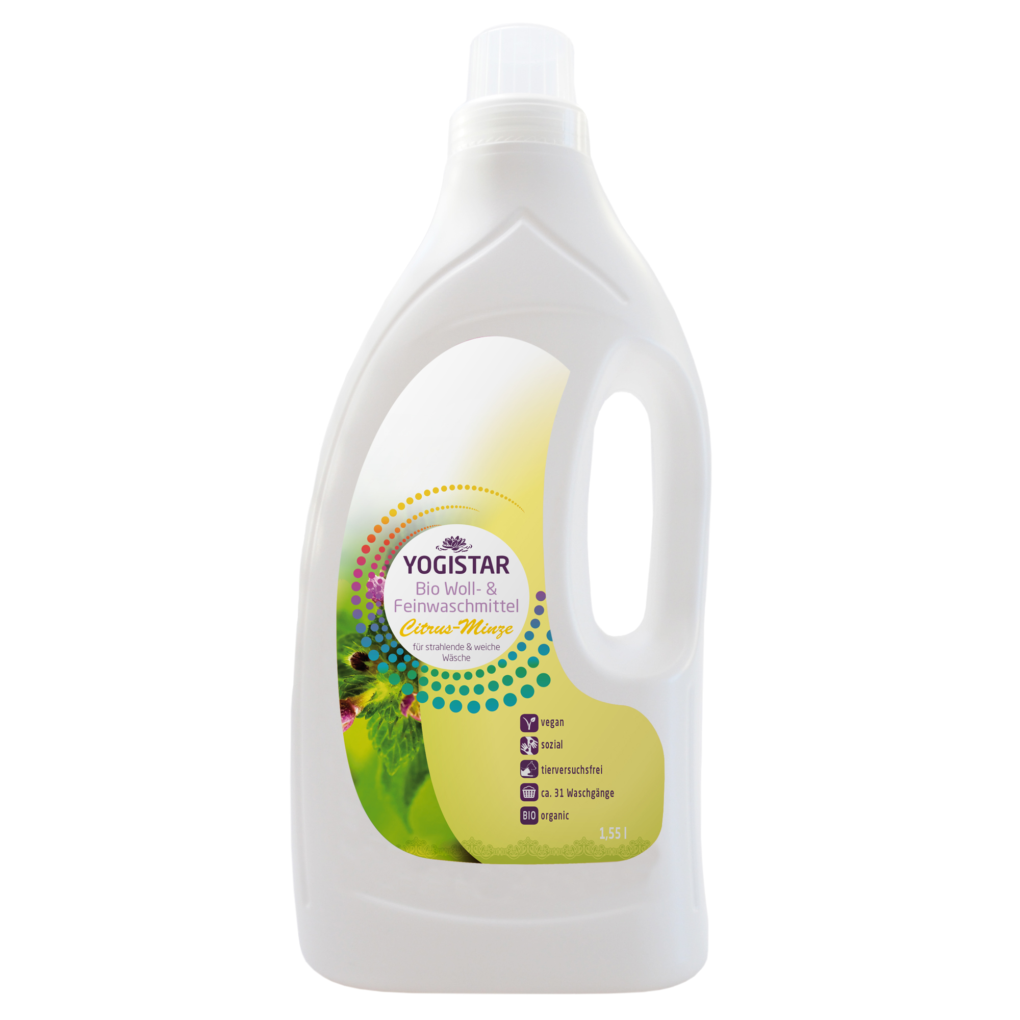 Bio Woll- & Feinwaschmittel - Citrus-Minze - 1,55 l