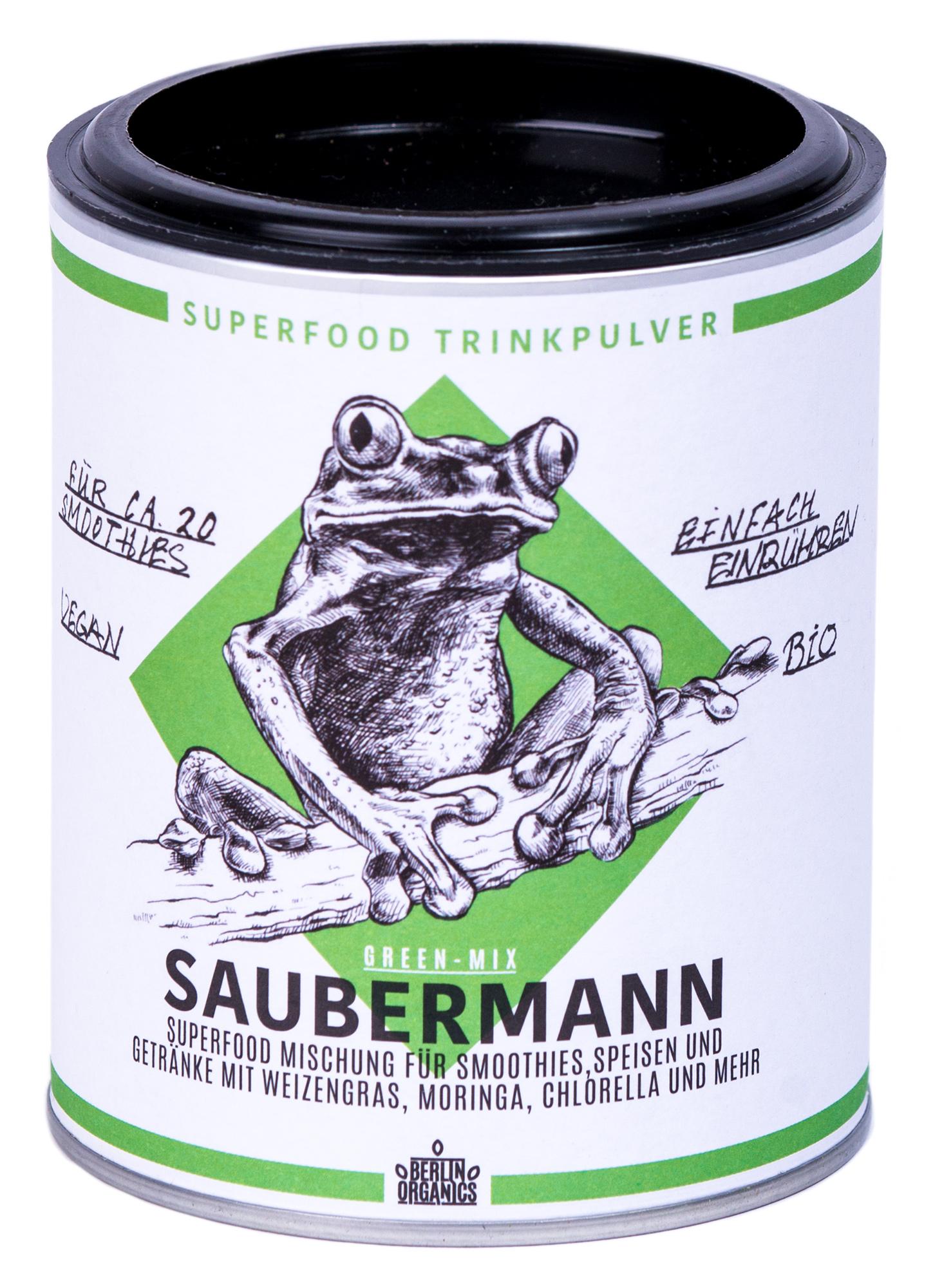 """Bio Superfood Mischung """"SAUBERMANN"""", 100 g"""