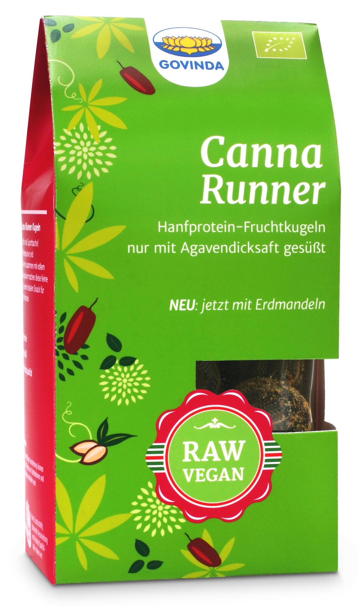 Bio Canna Runner (Hanfprotein Fruchtkugeln), 100 g