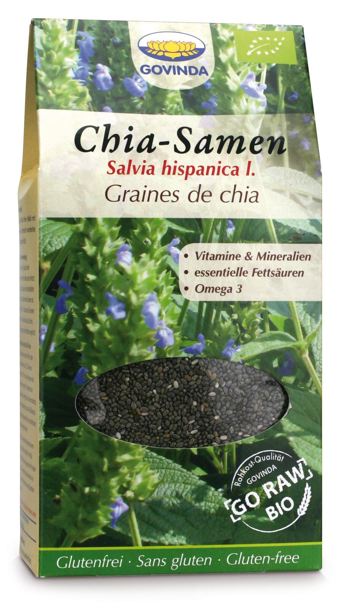 Bio Chia Samen, 450 g
