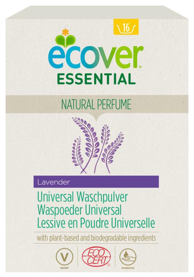Essential Universal Waschpulver Lavendel, 1,2 kg
