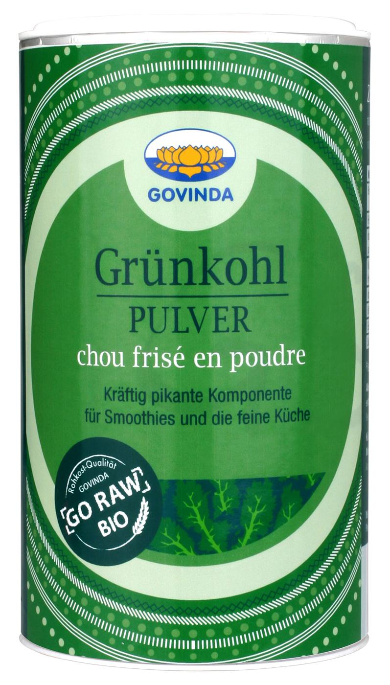 Bio Grünkohl Pulver, 175 g