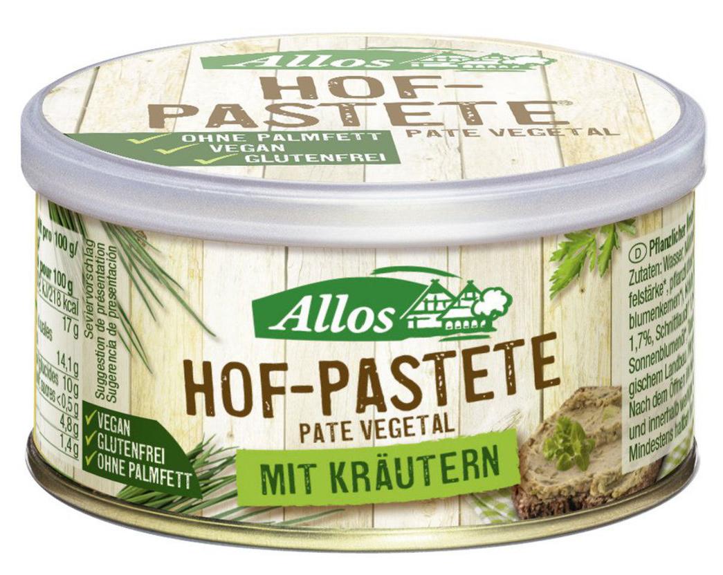 Bio Hof-Pastete Kräuter, 125 g