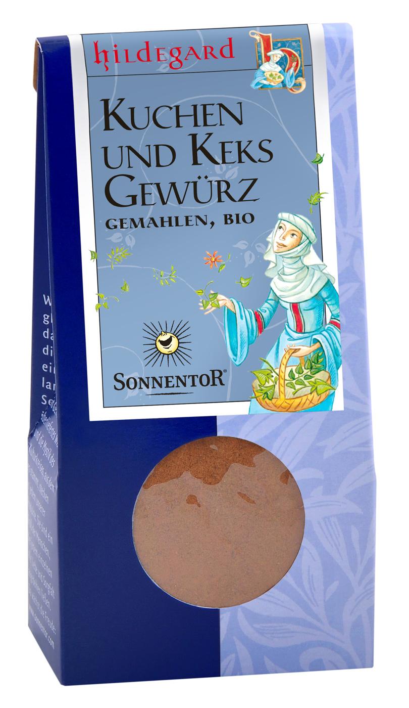 "Bio Kuchen u. Keks Gewürz ""Hildegard"", 40 g"
