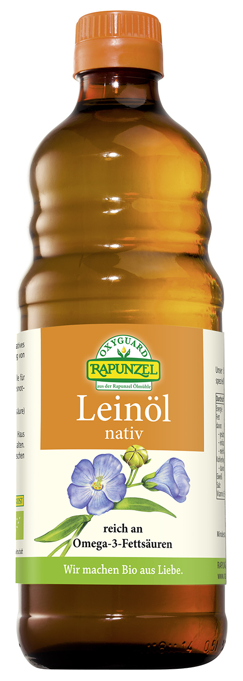 Bio OXYGUARD® Leinöl nativ, 500 ml