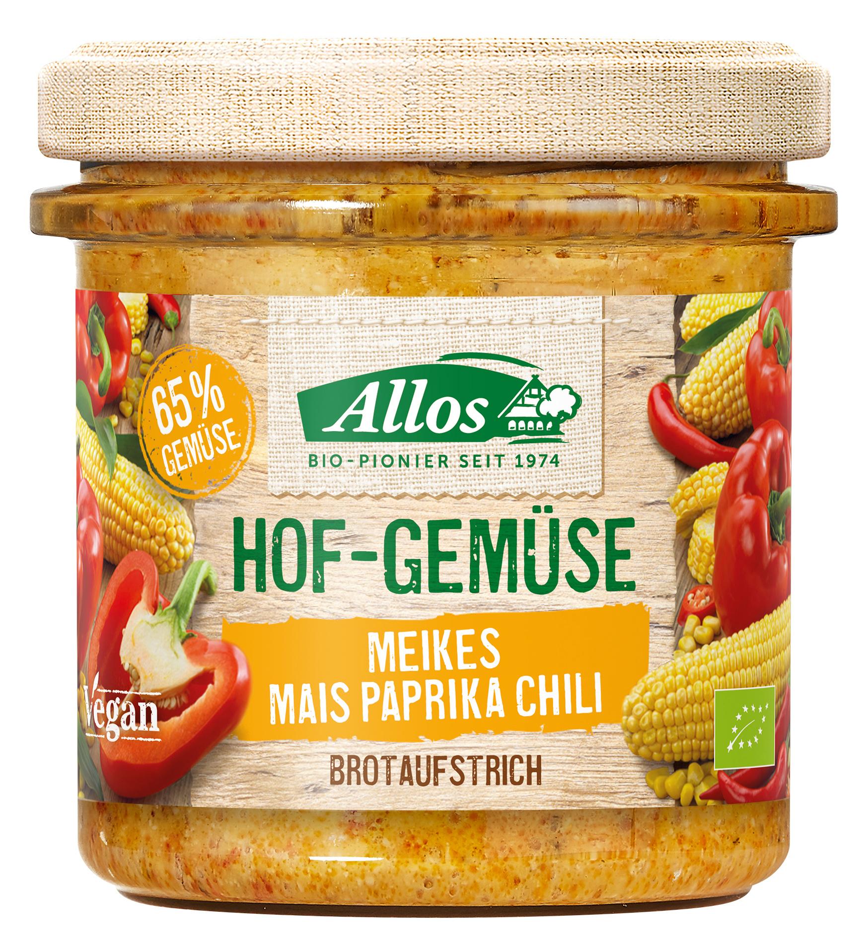 Bio Hof-Gemüse Meikes Mais Paprika Chili, 135 g