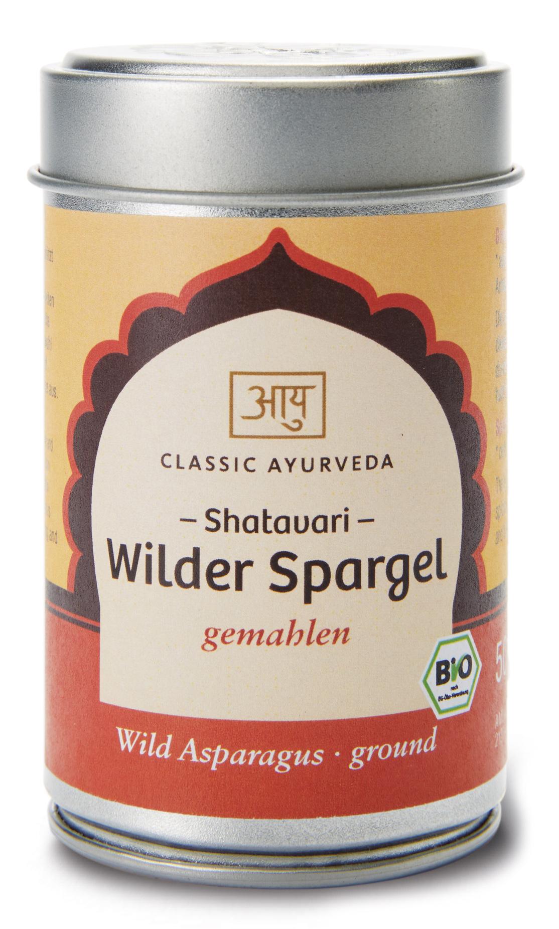Bio Shatavari Churna (wilder Spargel), 50 g