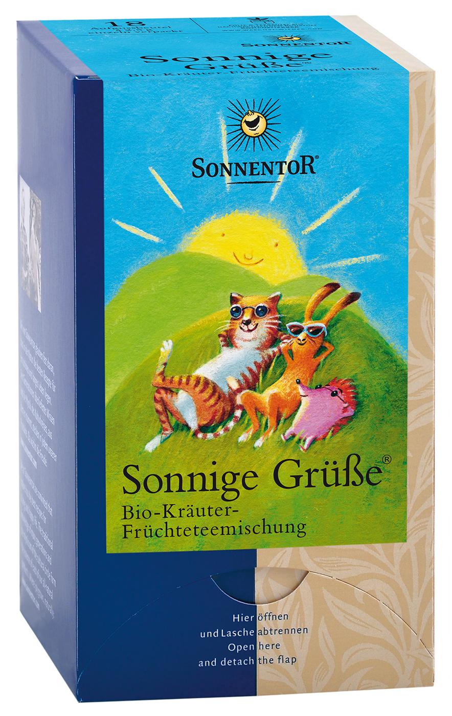 Bio Kräuter Früchteteemischung Sonnige Grüße Btl., 45 g im All Bio ...
