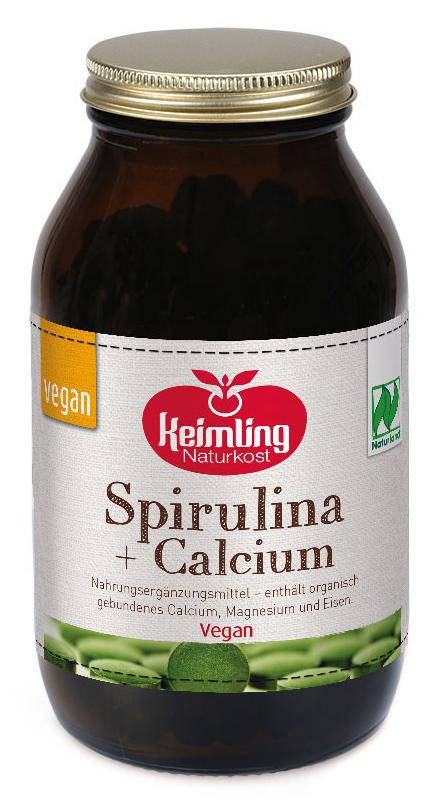 Bio Spirulina + Calcium - Naturland