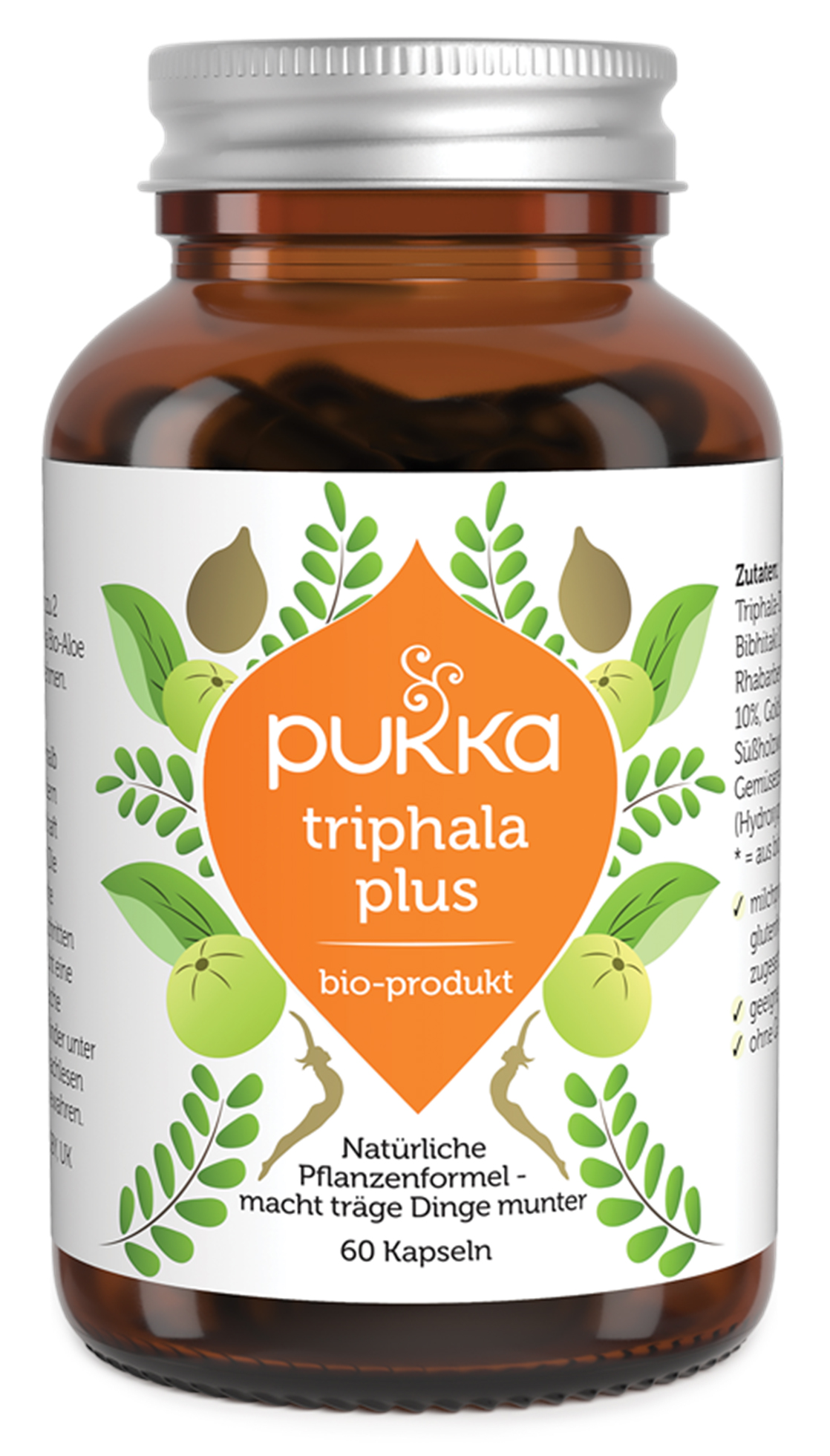 Bio Triphala Plus (60 Kapseln), 39 g