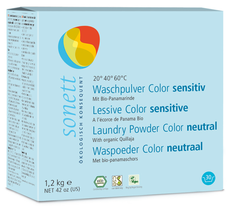 Waschpulver Color sensitiv 1,2 kg