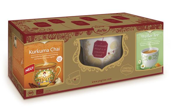 Yogi Tea® Geschenk-Set: 1x Tasse, 2x Tee