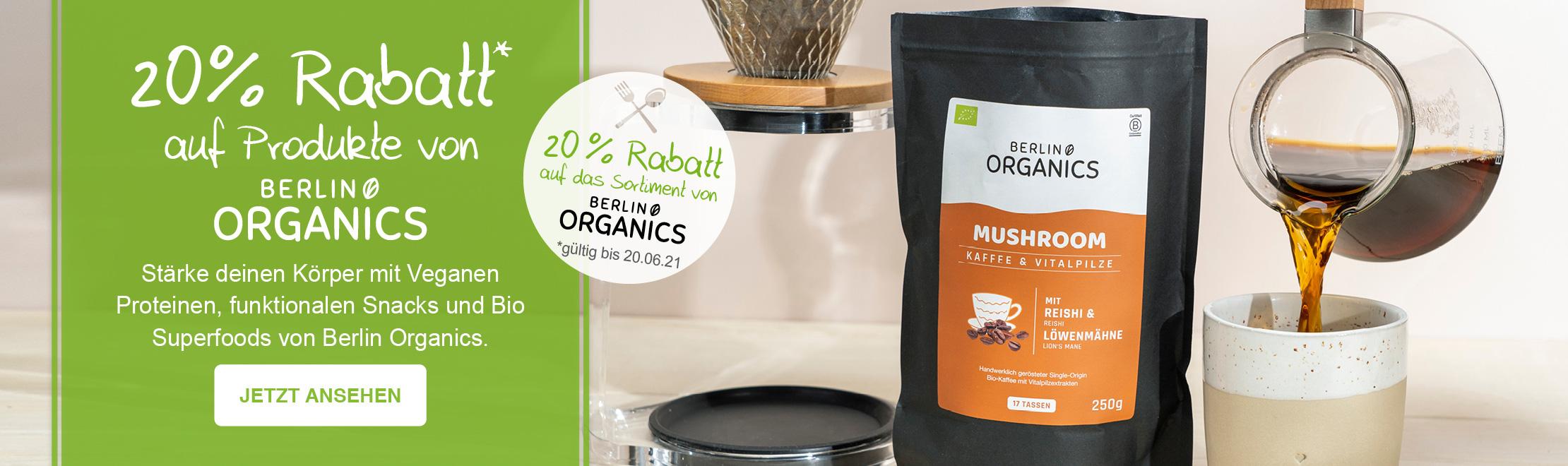 20% Berlin Organics