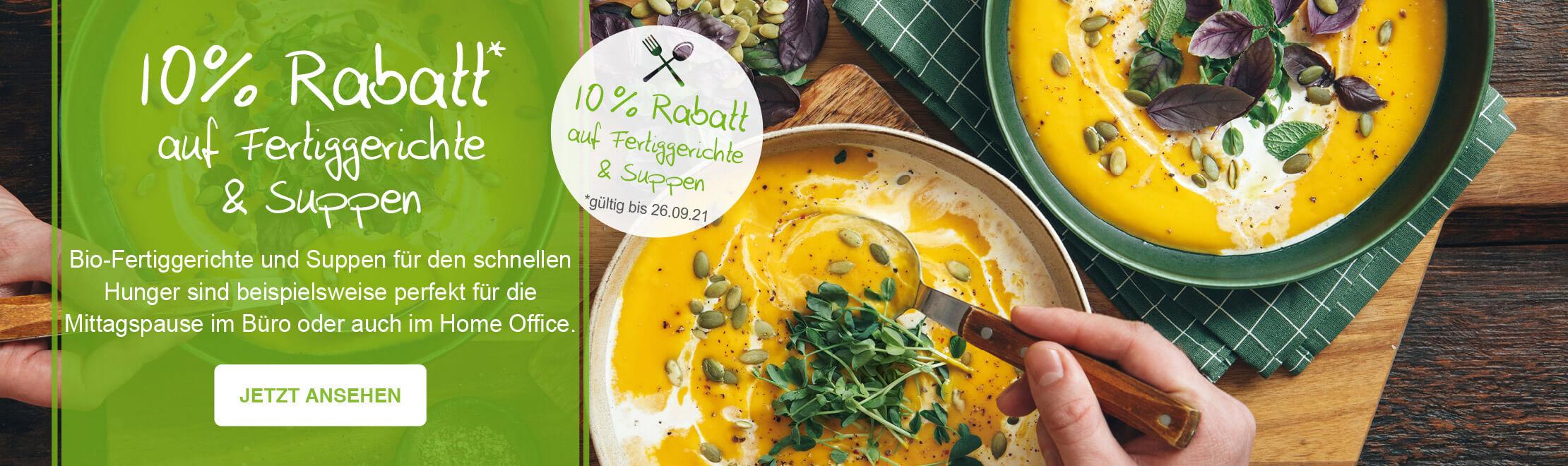 10% Vegetarische Küche