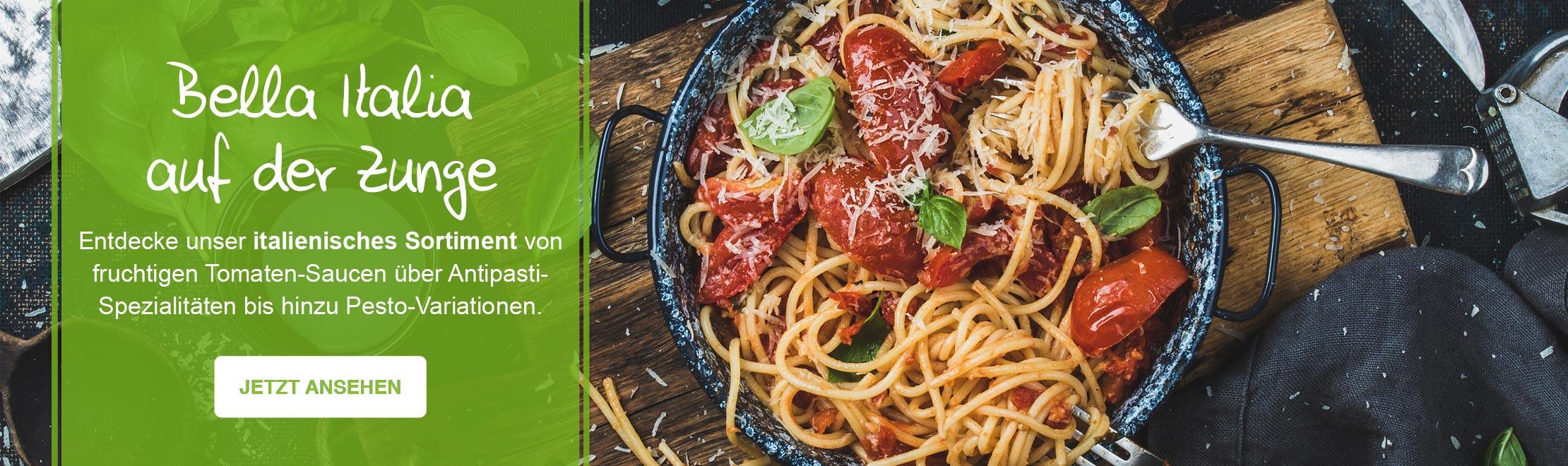 Banner Italienische Küche